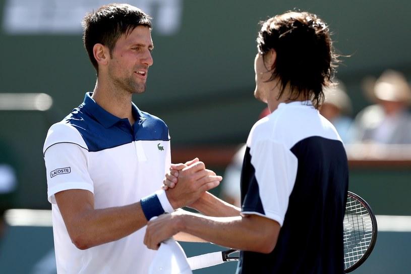 Novak Djoković sensacyjnie przegrał z Taro Danielem /AFP