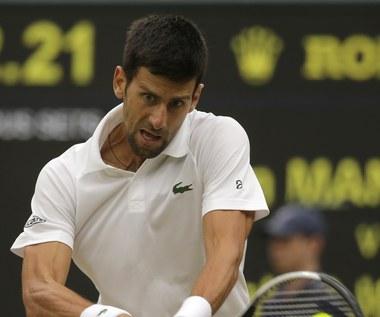 Novak Djoković w ćwierćfinale Wimbledonu