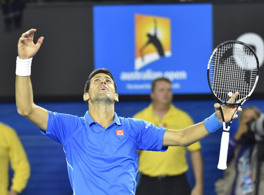 Novak Djokovic /FILIP SINGER /PAP/EPA