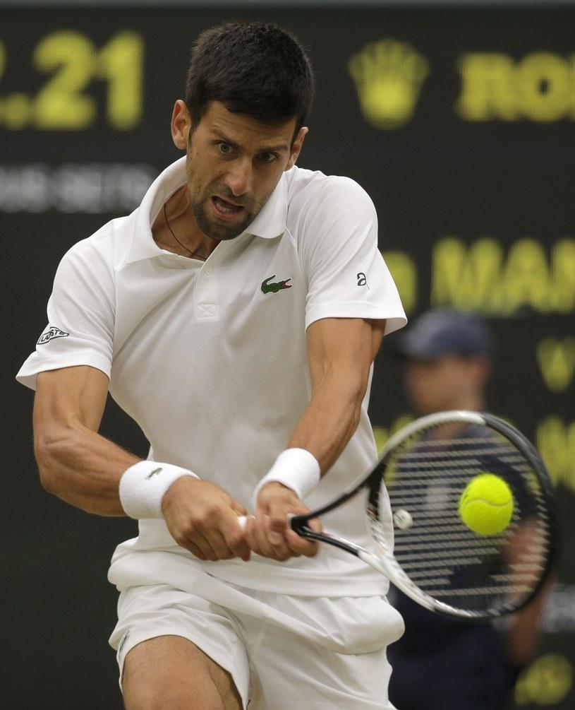 Novak Djoković /ALASTAIR GRANT /East News