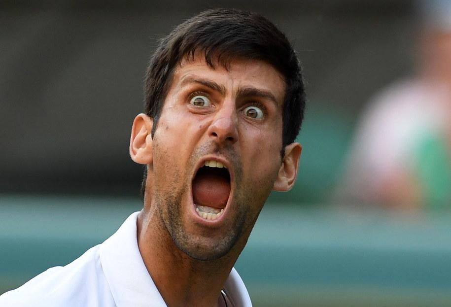 Novak Djokovic /GERRY PENNY /PAP/EPA