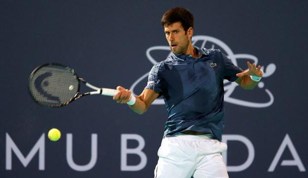Novak Djokovic /ALI HAIDER /PAP/EPA