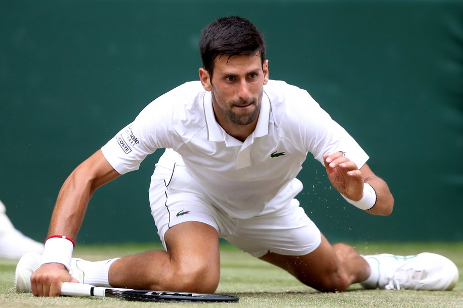 Novak Djokovic /PAP/EPA/CARL RECINE / POOL /