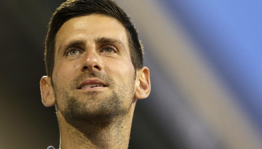 Novak Djokovic /Andrej Cukić /PAP/EPA