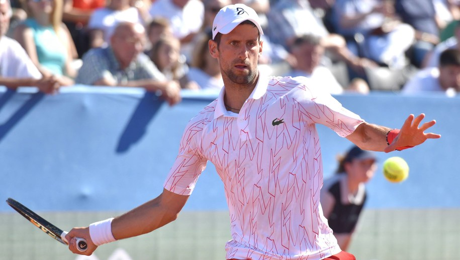 Novak Djokovic / Dino Stanin/PIXSELL /PAP/EPA