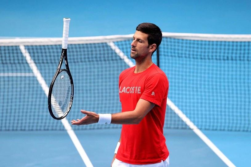Novak Djoković /AFP/AFP DAVID GRAY/ /AFP
