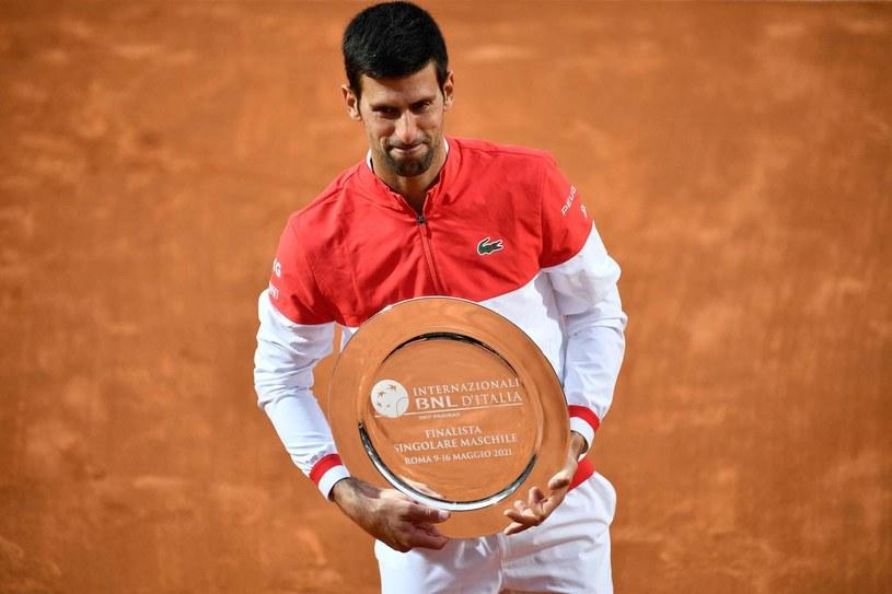 Novak Djoković /AFP/AFP FILIPPO MONTEFORTE/ /AFP