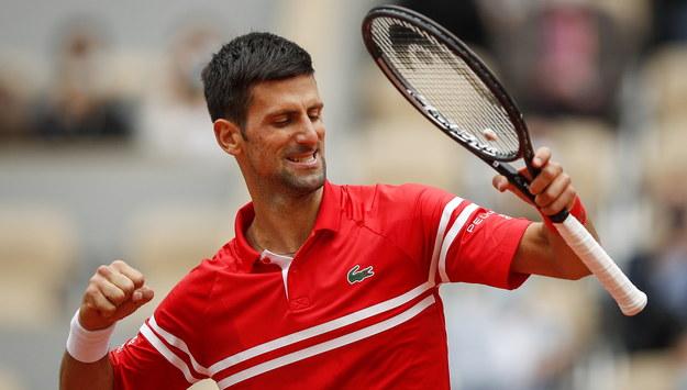 Novak Djokovic /YOAN VALAT  /PAP/EPA