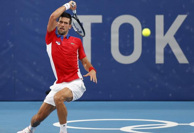 Novak Djokovic /RUNGROJ YONGRIT /PAP/EPA
