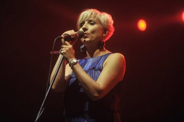 Novika podczas występu na festiwalu Open'er 2010 /AKPA