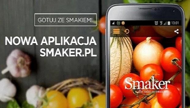 Nowa aplikacja Smaker /materiały prasowe
