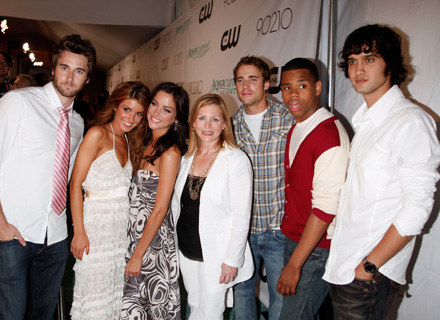 "Nowa ekipa nowego ""Beverly Hills 90210"".fot.K.Winter /Getty Images/Flash Press Media"