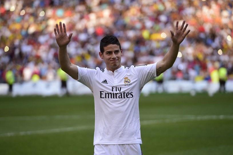 Nowa gwiazda Realu Madryt - James Rodriguez /AFP