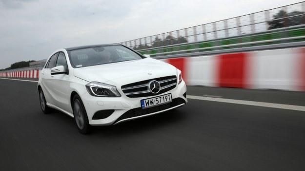 Nowa klasa A z minivanem nie ma już nic wspólnego. To typowy przedstawiciel klasy kompakt. Minivanem u Mercedesa jest klasa B. /Motor