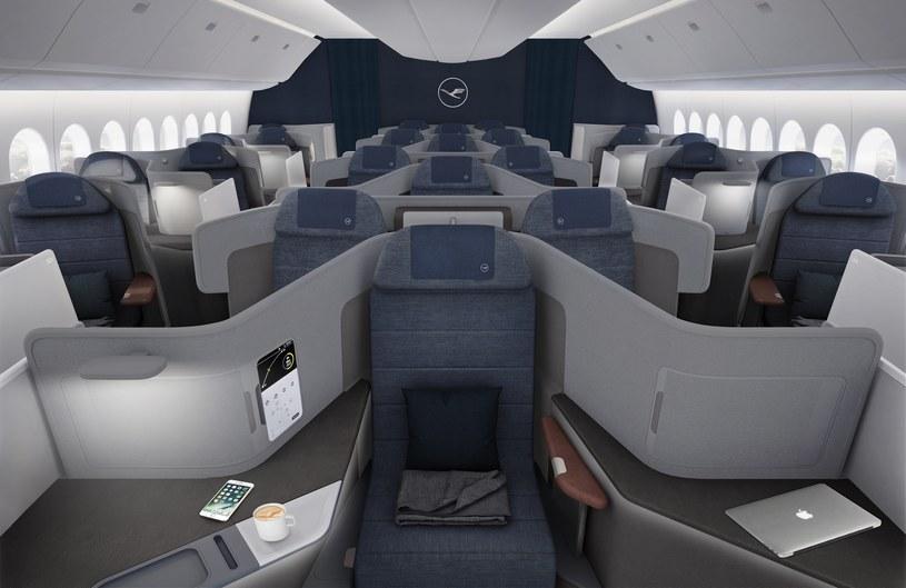 Nowa Klasa Biznes wkrótce w samolotach Lufthansy /materiały prasowe