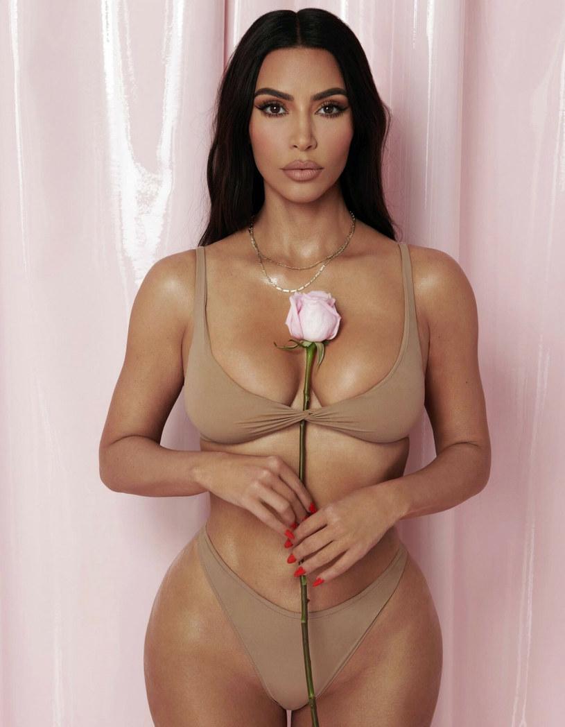 Nowa kolekcja bielizny Skims Kim Kardashian /Grosby Group /East News