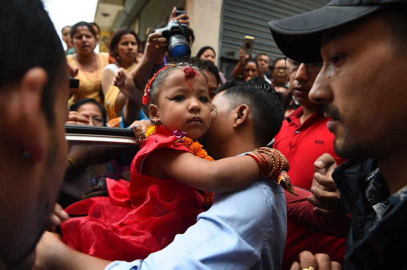 Nowa Kumari to trzyletnia Trishna Shakya /PRAKASH MATHEMA /AFP