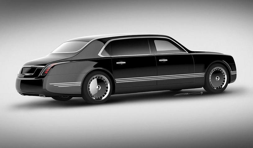 Nowa limuzyna Władimira Putina /