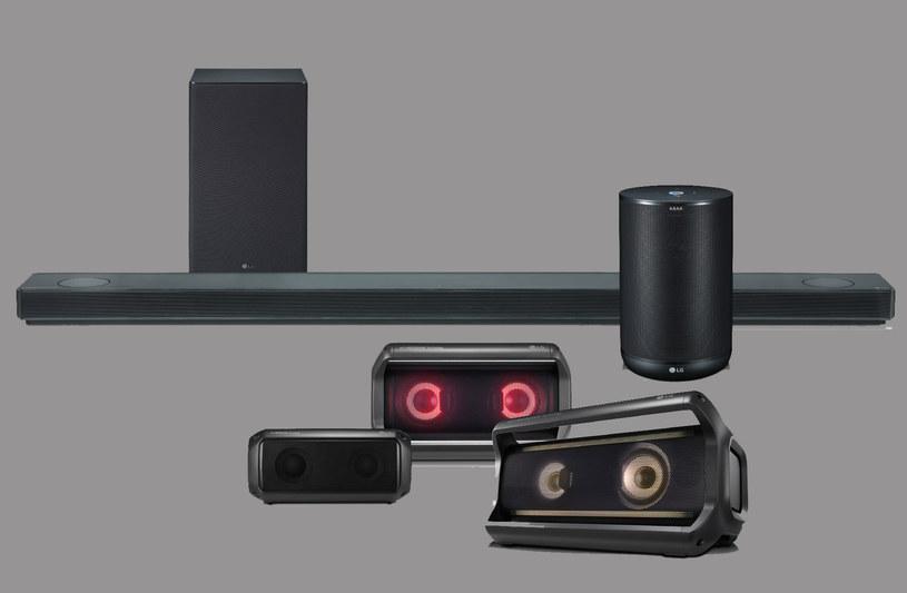 Nowa linia głośników LG na rok 2018 /materiały prasowe