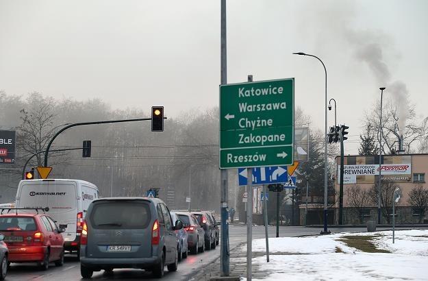 Nowa linia kolejowa odciąży drogowy wyjazd z Krakowa w stronę Zakopanego? Fot. D.Klamka /East News