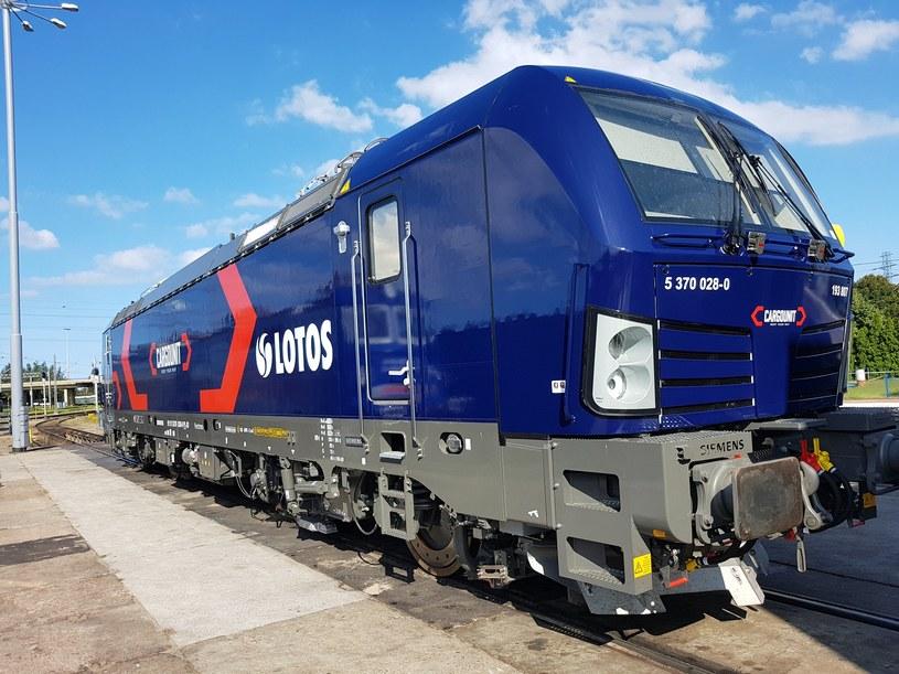 Nowa lokomotywa Siemens Vectron we flocie Cargounit /materiały prasowe