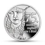 """Nowa moneta kolekcjonerska NBP: """"75. rocznica zagłady Romów i Sinti"""""""