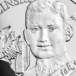 """Nowa moneta kolekcjonerska NBP: """"Wyklęci przez komunistów żołnierze niezłomni - Łukasz Ciepliński """"Pług"""""""