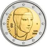 """Nowa moneta okolicznościowa: """"Dama z gronostajem"""" na monecie 2 euro"""