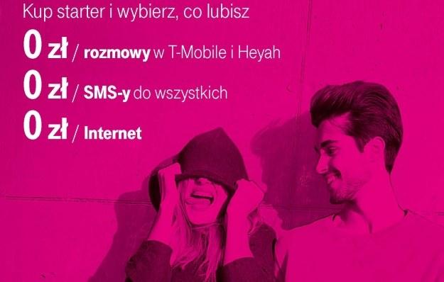 Nowa oferta T-Mobile na kartę /materiały prasowe
