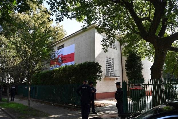 Nowa siedziba Białoruskiego Domu w Warszawie /Piotr Nowak /PAP