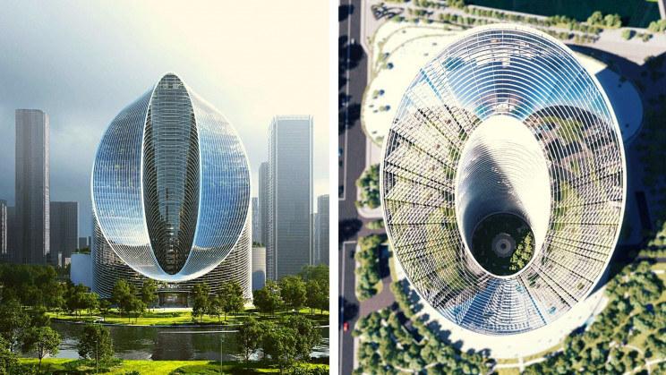 Nowa siedziba Oppo będzie jednym z najbardziej niezwykłych budynków na świecie /materiały prasowe