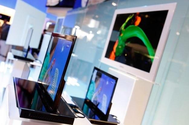 Nowa techologia produkcji OLED-ów może zagrozić rynkowej dominacji ekranów LCD /AFP