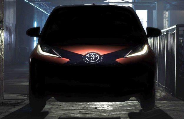 Nowa Toyota Aygo /