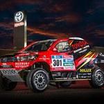 Nowa Toyota Hilux w Rajdzie Dakar