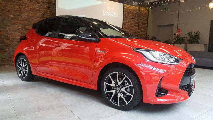 Nowa Toyota Yaris /INTERIA.PL
