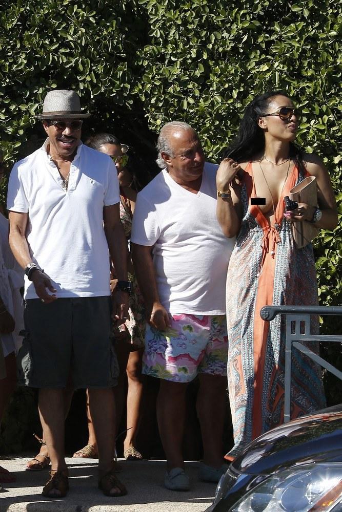 Nowa ukochana Lionela Richie jest od niego młodsza o 30 lat /Abaca /East News