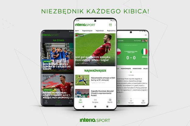 Nowa wersja aplikacji Interia Sport na urządzenia z Androidem już dostępna /Interia.pl /INTERIA.PL