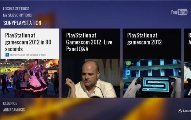 Nowa wersja aplikacji YouTube na konsolę PS3 /materiały prasowe