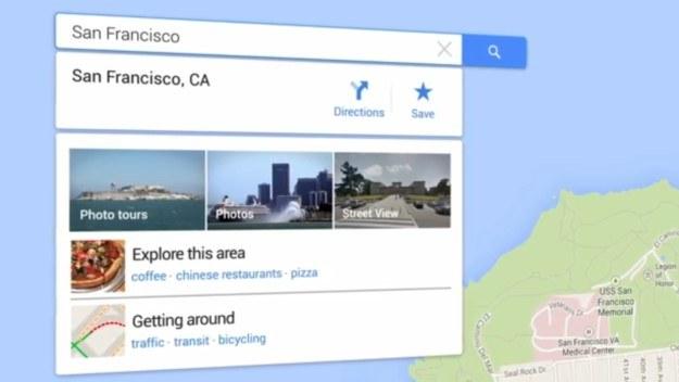 Nowa wersja Google Maps /materiały prasowe