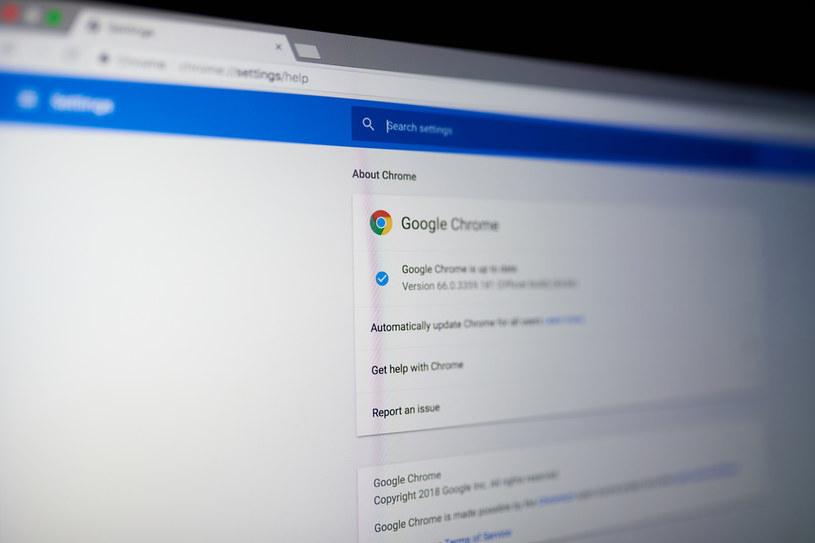 Nowa wersja przeglądarki Chrome już dostępna /123RF/PICSEL