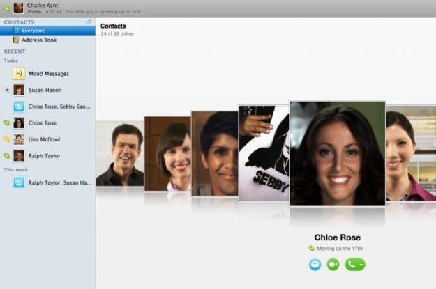 Nowa wersja Skype dla Maka - czy warta jest swojej ceny? /materiały prasowe