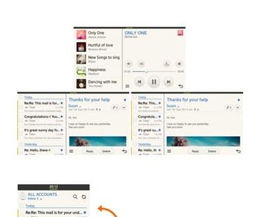 Nowa wersja Tizena na zrzutach ekranowych