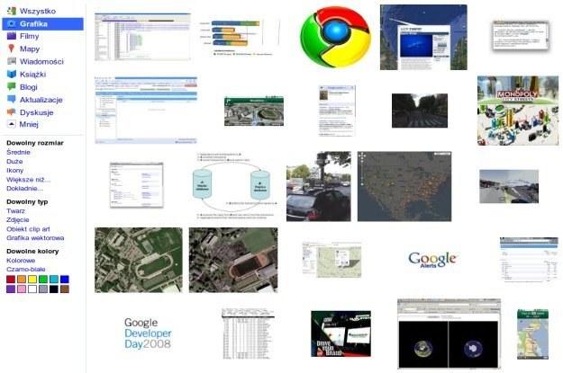 Nowa wizualizacja wyszukiwania graficznego /HeiseOnline