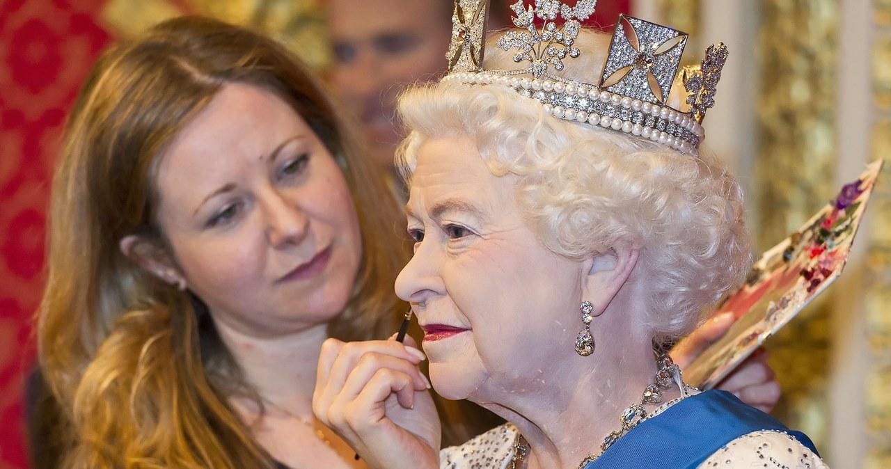 Nowa  woskowa figura królowej Elżbiety II