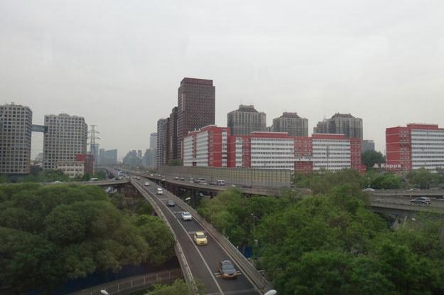 Nowa zabudowa Pekinu przytłacza swoją monumentalnością /INTERIA.PL