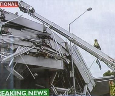 Nowa Zelandia: Co najmniej 65 zabitych w trzęsieniu ziemi