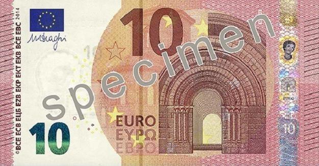 Nowe 10 euro - awers /
