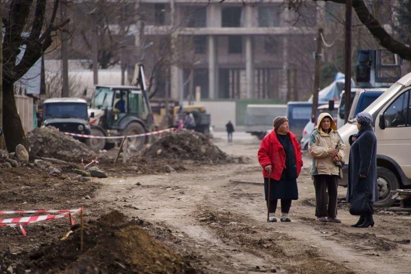 Nowe centrum w budowie /AFP