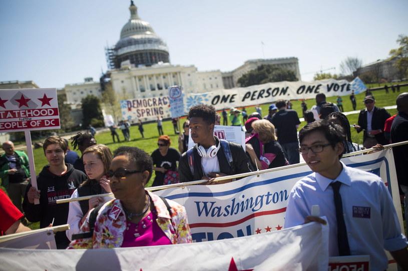 Nowe demonstracje przeciwko wielkim pieniądzom w polityce /PAP/EPA