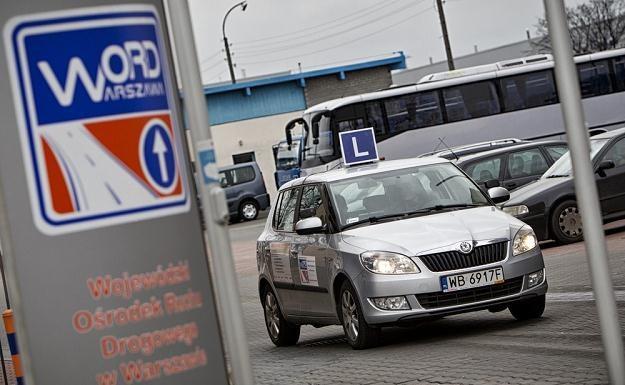 Nowe egzaminy na prawo jazdy pojawią się w 2013 roku. Fot. Andrzej Stawiński /Reporter